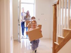 Tips on Moving with Small Children #movingtips #movingadvice #moving #arrowmoving