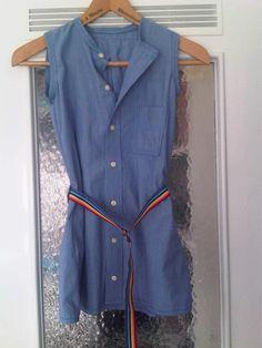 Nahtlokal: Aus einem alten Hemd wird ein Kleid