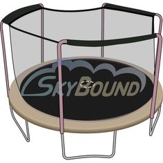 Skybound Brand 12 Ft Frame Size Reversible Lite Grade