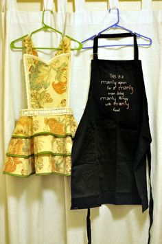 A Journey into Creativity: His and Hers Aprons || Wedding Gift