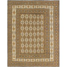 Loon Peak One-of-a-Kind Priston Hand-Woven Wool Beige/Brown Area Rug Grey Rugs, Home Decor Outlet, Hand Weaving, Beige, Wool, Rug Ideas, Crafts, Brown, Products