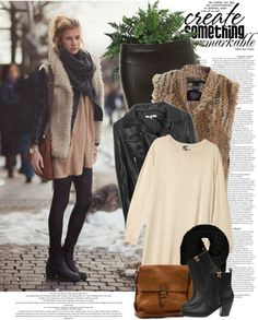 """Street Style: Stockholm"" by nastyaafanasova ❤ liked on Polyvore"