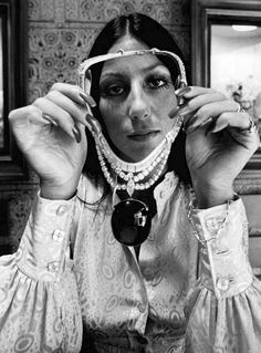 """Cher is an American singer, songwriter, and actress. Cher is best known from her days performing with her former husband, as """"Sonny and Cher"""" Highlights:. Cher Photos, I Got You Babe, Cher Bono, Vintage Black Glamour, Iconic Women, Vogue Magazine, Cultura Pop, Black Star, 70s Fashion"""