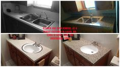 Our Minnesota Granite Transformations team did a fantastic job for this customer: did her kitchen a few years back...now remodeled her downstairs kitchen and bath vanity. What a difference and really increased the resale value of her home in Eagan, MN!