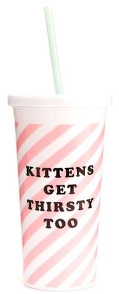 cute 'sip sip' girly tumbler