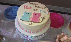 Sissy's Sweets: Gender Reveal Cake