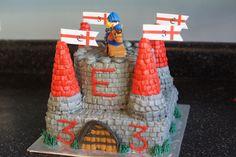 Knight Castle Cake