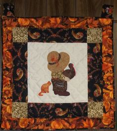 Thanksgiving Sunhat Same Wall Hanging Pattern