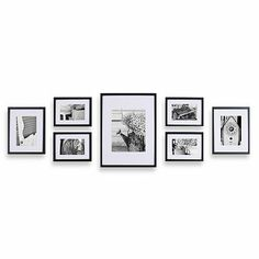 Gallery Perfect 7-Piece Frame Set - BedBathandBeyond.com