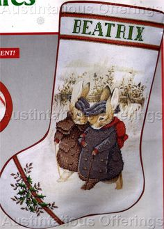 CROSS STITCH PATTERNS CHRISTMAS STOCKINGS |