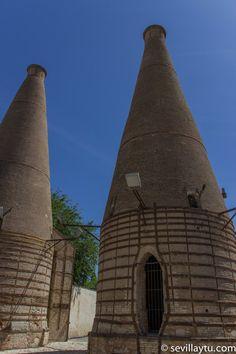 Hornos del tipo 'de botella', Monasterio de la Cartuja ,Sevilla. #Sevilla #Seville #sevillaytu @Sevilla&Tú