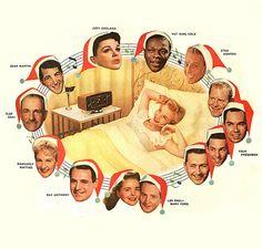 1956 Christmas radio!