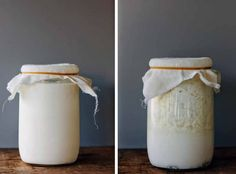 I think I am going to make homemade kefir! My Darling Lemon Thyme: Homemade milk kefir. Rich in probiotics and virtually lactose-free! Clean Recipes, Real Food Recipes, Home Fermenting, Kefir Recipes, Homemade Hummus, Recipe From Scratch, Lactose Free, Summer Drinks, Kids Meals