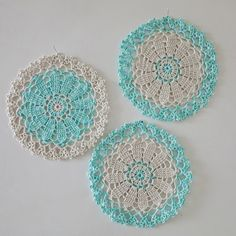 Beautiful #crochet doily shares from Haafner