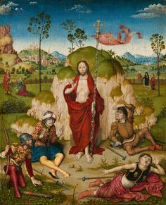 Circle of Dirk Bouts, The Resurrection of Christ, c. 1480