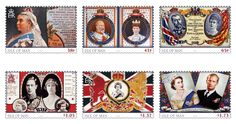 Coronation Commemorative Stamps #stamps #coronationstamps #isleofman #isleofmanstamps