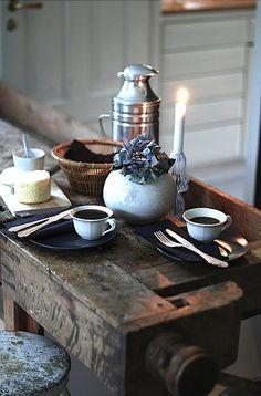 Un romantico caffè la mattina...;)