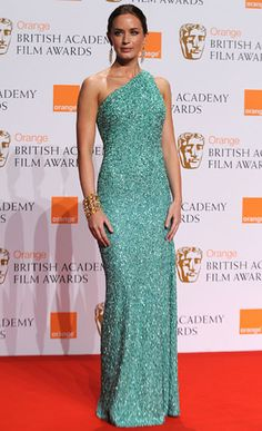 2008 BAFTA Awards - Emily Blunt in Marc Bouwer