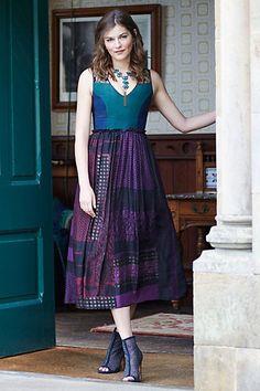 Montage Maxi Dress #anthropologie. So gorgeous.