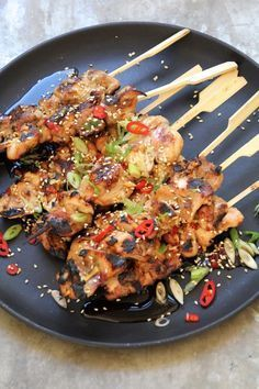 Asiatiake kylllingspyd Easy Chicken Recipes, Asian Recipes, Healthy Recipes, I Love Food, Good Food, Pizza Snacks, Breakfast Snacks, Grilling Recipes, Food To Make