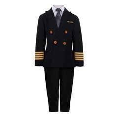 Let imaginations fly with our pilot outfit for kids. They'll love pretending to be an Emirates captain, flying off to new adventures. #emirates #emiratesoffcialstore #dubai #pilot #kidsuniform