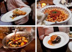 wedding-food-salmon-mushroom-spaghetti