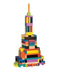 Take a look at this ArchiQuest Master Builder Set by T. Shure on today! Wooden Building Blocks, Wooden Blocks, Building Toys, Block Play, Master, Creative Play, Architectural Elements, Toddler Toys, Educational Toys