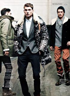 P-I-M-P. -- Aiden Andrews, Julien Quevenne, Matvey Lykov & Vinnie Woolston by Sven Baenziger for GQ France
