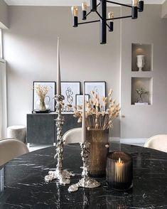 Happy Homes (@happyhomes) • Foton och videoklipp på Instagram Diy Home Interior, Kitchen Room Design, My Room, Chandelier, Dining Room, Ceiling Lights, House, Home Decor, Beige