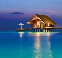 Water Villa Exterior - One&Only Reethi Rah, Maldives