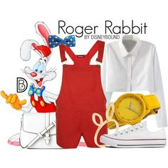Disney Bound - Roger Rabbit