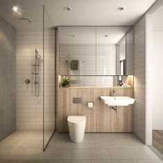Render House Studios Home Studio, House, Home, Rendered Houses, Bath, Cool Stuff, Bathroom, Bathtub