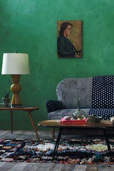 Kinda digging this sofa! Mathilde Sofa, Dots - Anthropologie.com