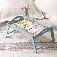 Breakfast In Bed Tray Diy Shabby Chic Estilo