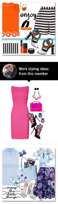 """""""Kat Maconie Women's Heidi"""" by kimzarad1 on Polyvore featuring Reiss, Kat Maconie, Carven, West Coast Jewelry, Adolfo Courrier, NARS Cosmetics, Kenneth Cole, The White Company and polyvoreeditorial"""