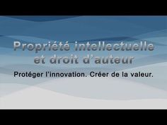 OPIC propriété intellectuelle
