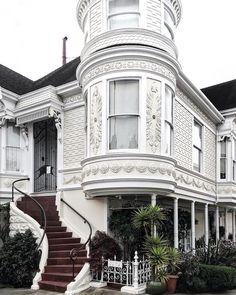 Houses of San Francisco by Sophia Goldberg #sanfrancisco #sf #bayarea #alwayssf #goldengatebridge #goldengate #alcatraz #california
