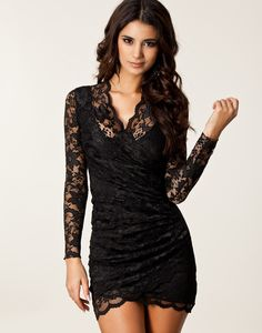 Shop Black V-Neck Long Sleeve Attractive Lace Sheath Dress on sale at Tidestore with trendy design and good price. Come and find more fashion Lace Dresses here. Lace Dress With Sleeves, Lace Sheath Dress, Lace Dresses, Trendy Dresses, Sexy Dresses, Vintage Dresses, Casual Dresses, Short Dresses, Fashion Dresses