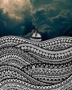 Image result for Doodling a sky