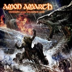 "Amon Amarth | Twilight of the Thunder God | ""They march in full battle dress, With faces grim and pale, Tattered banners and bloody flags, Rusty spears and blades"""