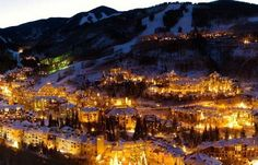 This picture does a spectacular job of showing the urbanization of ski mountains. Vail Village has been dramatically transformed over the years and no longer exists as just a ski mountain, rather it is a resort that appeals to all.
