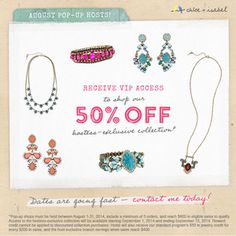 Just in! Come, party with me— online or in person! #Jewelry #Hosts #ChloeandIsabel #GeishaGlam http://chloeandisabel.com/boutique/geishaglam