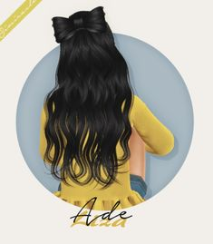 Ade Liza Hair Kids Version at Simiracle • Sims 4 Updates
