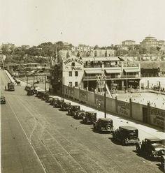 207 St bridge next to the Miramar Pool in 1927