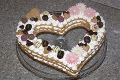 Torta v tvare srdca - recept postup 11