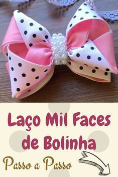 Vídeo Completo no Youtube #laços #laçosdecabelo #laço #tiara laçodefita laçodefitapassoapasso #laçospap #laçosefitas Making Hair Bows, Diy Hair Bows, Ribbon Hair Bows, Diy Bow, Diy Ribbon, Fabric Ribbon, Ribbon Crafts, Fabric Flowers, Baby Bows