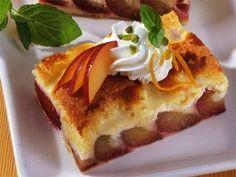 Zwetschgenkuchen mit Joghurt-Schmand-Guss -