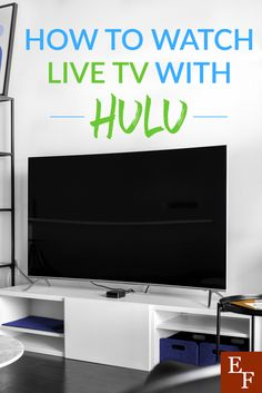 How to Watch TV Live With Hulu everything finance Tv Hacks, Netflix Hacks, Watch Live Tv Online, Tv Watch, Tv Without Cable, Cable Tv Alternatives, Free Tv And Movies, Hulu Tv, Tv Options