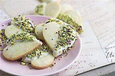 Recipe: Rosewater Shortbread Cookies