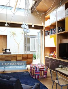 Contemporary study Contemporary Home Offices, Contemporary Style, Study Space, Interior Photography, Change, Stock Photos, Bed, Furniture, Home Decor